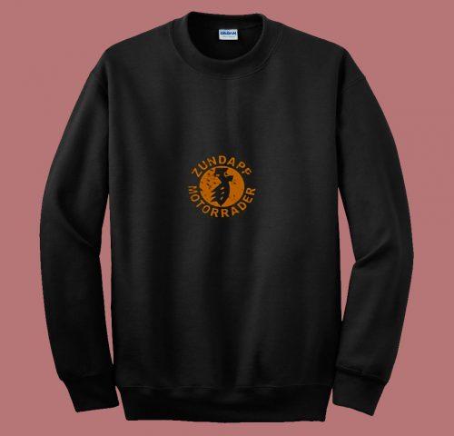 Zundapp Motorrader 80s Sweatshirt