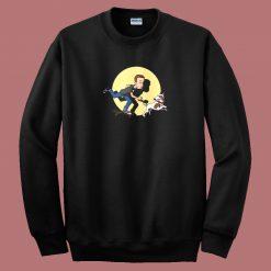 Adventures of An Evil Kid 80s Sweatshirt
