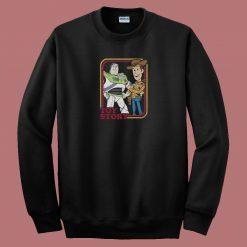 Best Buds Unite Toy Story 80s Sweatshirt