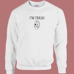 Forky Im Trash 80s Sweatshirt