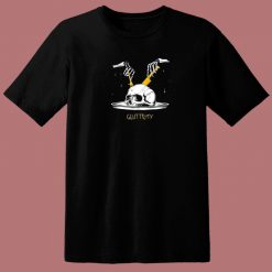 Gluttony Skull 80s T Shirt