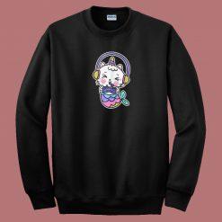 Unicat Mermaid Gamer 80s Sweatshirt