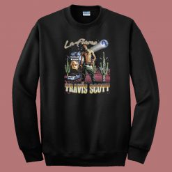 La Flame Vintage Rapper 80s Sweatshirt