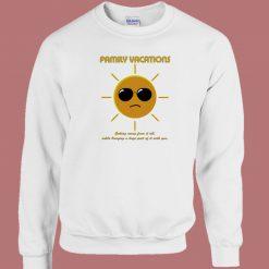Sun Family Vacations 80s Sweatshirt