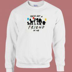 Toy Story Got A Friend 80s Sweatshirt