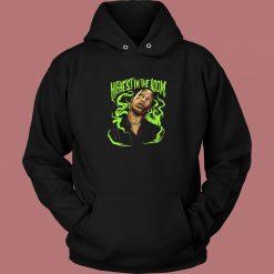 Travis Electric Green Aesthetic Hoodie Style