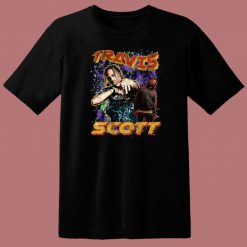 Travis Scott American Rapper 80s T Shirt