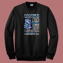 10 Things Aquarius 80s Sweatshirt