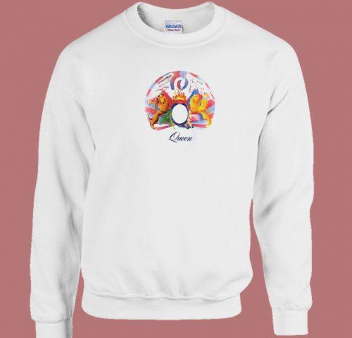 A Night At The Opera Queen 80s Sweatshirt
