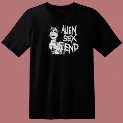 Alien Sex Fiend Graphic 80s T Shirt