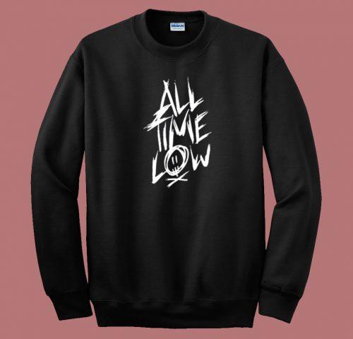 All Time Low Logo 80s Sweatshirt