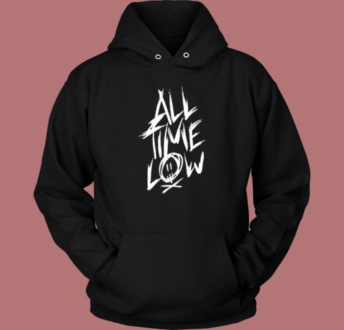 All Time Low Logo Aesthetic Hoodie Style