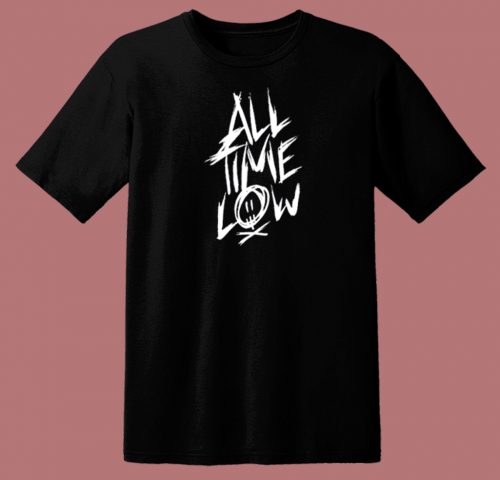 All Time Low Logo 80s T Shirt
