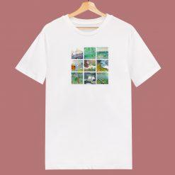 Art Grid Of Claude Monet 80s T Shirt
