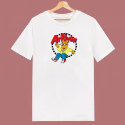 Arthur Cartoon Character 80s T Shirt