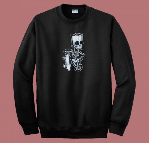 Bare Bones Bart 80s Sweatshirt