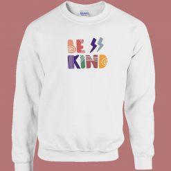 Be Kind Boheiman Graphic 80s Sweatshirt