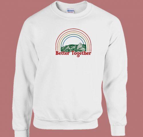 Better Together 80s Sweatshirt
