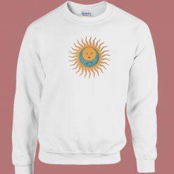 Celestial Sun 80s Sweatshirt