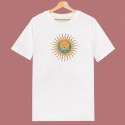 Celestial Sun 80s T Shirt