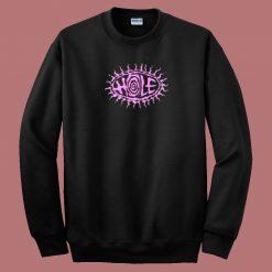 Circle On Hole Retro 80s Sweatshirt