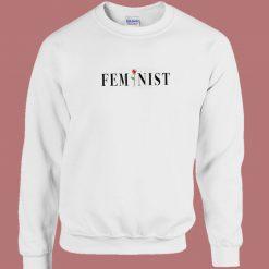 Feminist Rose 80s Sweatshirt