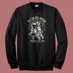 Fly To The Moon 80s Sweatshirt