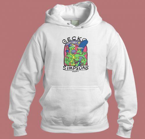 Gecko The Simpsons Hawaii Hoodie Style