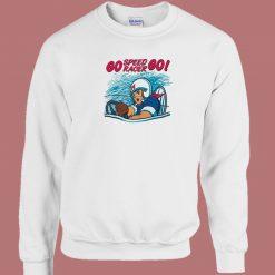 Go Speed Racer Go 80s Sweatshirt
