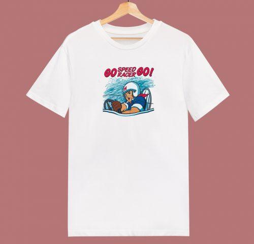 Go Speed Racer Go 80s T Shirt