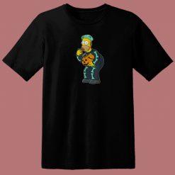 Homer Simpson Candy Feast 80s T Shirt