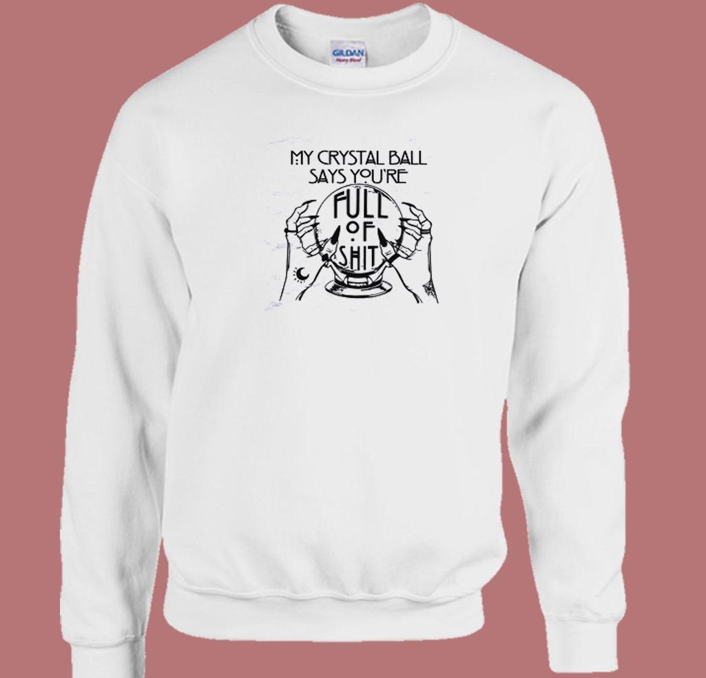 Mystical Hand 80s Sweatshirt