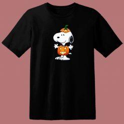 Peanuts Charlie Brown Halloween 80s T Shirt