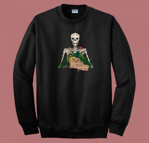 Skull Gardener 80s Sweatshirt