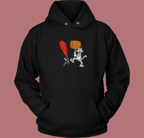 The Itchy And Scratchy Show Hoodie Style