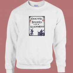 Chaotic Stupid Vintage 80s Sweatshirt