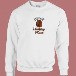 Chocolate Milk Is My Happy 80s Sweatshirt