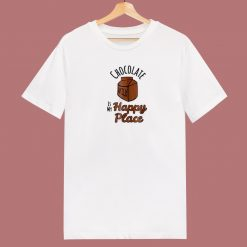 Chocolate Milk Is My Happy 80s T Shirt