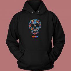 Coco Skull Pattern Hoodie Style