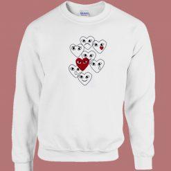 Comme Des Garcons Play 80s Sweatshirt