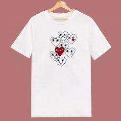 Comme Des Garcons Play 80s T Shirt