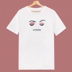 Cry Baby Pink 80s T Shirt