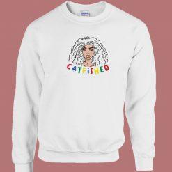 Catfished Vereena Aesthetic 80s Sweatshirt
