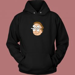 Morty Waves Funny Hoodie Style