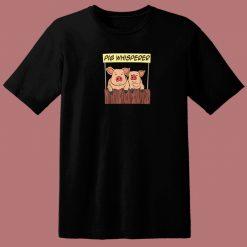Pig Whisperer Farmer 80s T Shirt